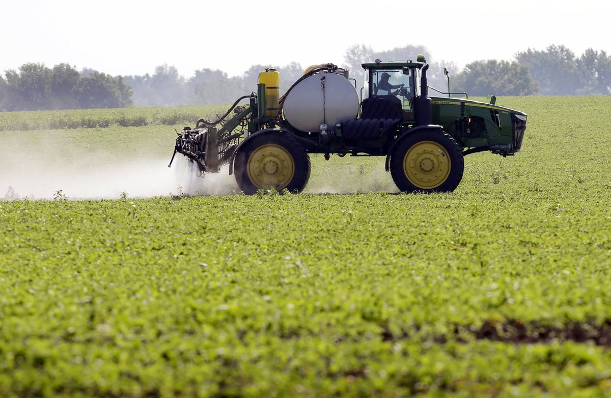 Shopping online for $26,000 of herbicides: Farmers turn to the internet.