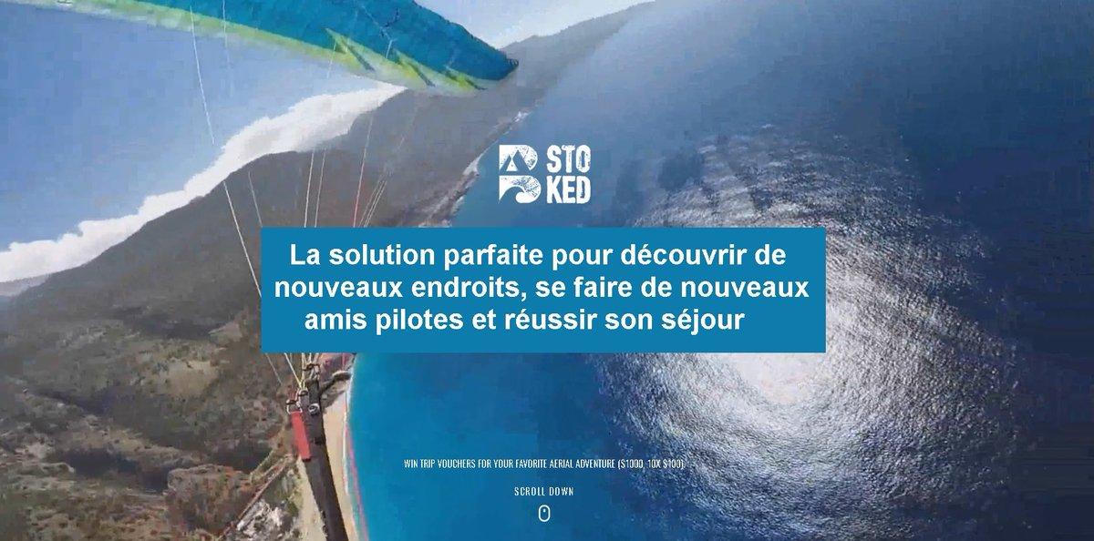 Bstoked, solution parfaite pour visiter de nouveaux endroits en parapente  http:// bit.ly/2lSMFtC  &nbsp;   #paragliding #parapente #rocktheoutdoor<br>http://pic.twitter.com/5fwbGduo1g