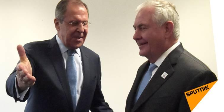 #Lavrov à #Tillerson: la #Russie n'intervient pas dans les affaires des autres pays  http:// sptnkne.ws/d8E5  &nbsp;  <br>http://pic.twitter.com/oAotF0rAPQ