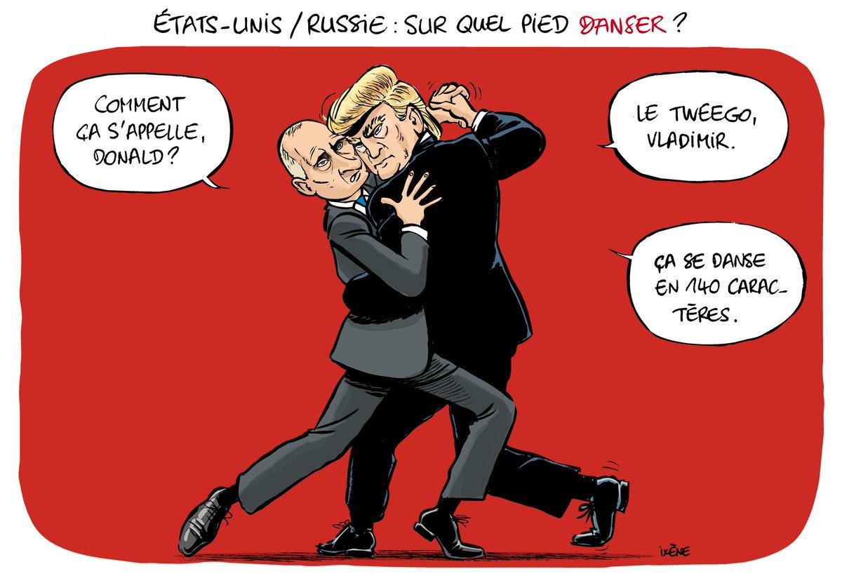 Déclarations d&#39;amour, provocations, accusations... difficile de décrypter la relation américano-russe ! #Putin #Trump @AlliancePresse<br>http://pic.twitter.com/VrqReQVaJC
