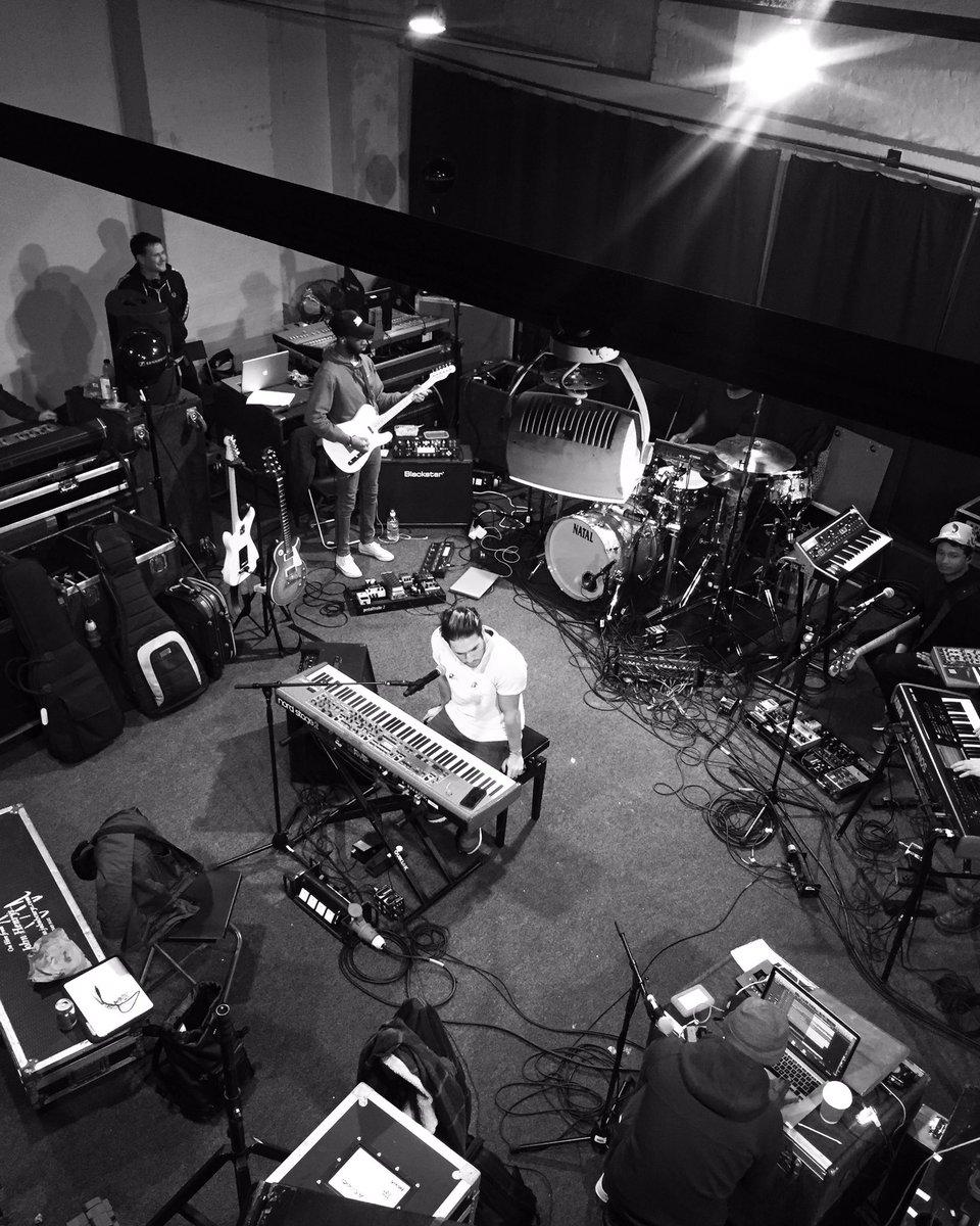 Rehearsals 😉🙏🏼🎹🎧
