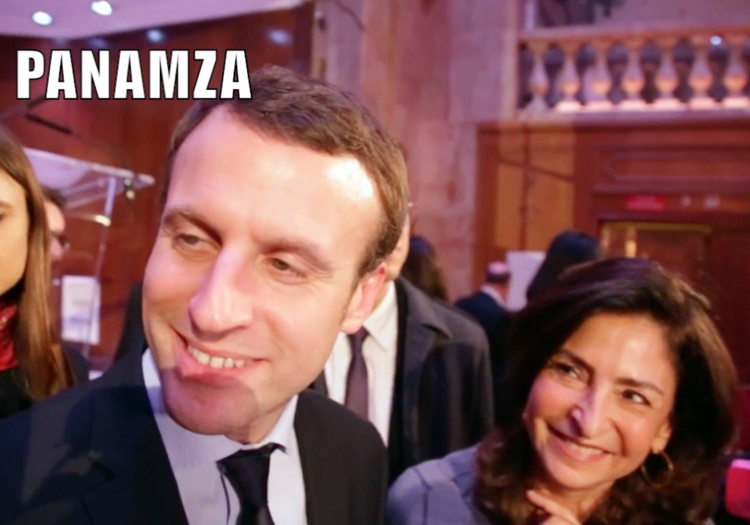 Macron collabore avec une sioniste anti-arabe