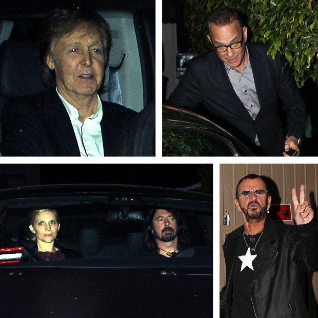 The Beatles Polska: Paul i Ringo na męskim spotkaniu z Tomem Hanksem i Dave