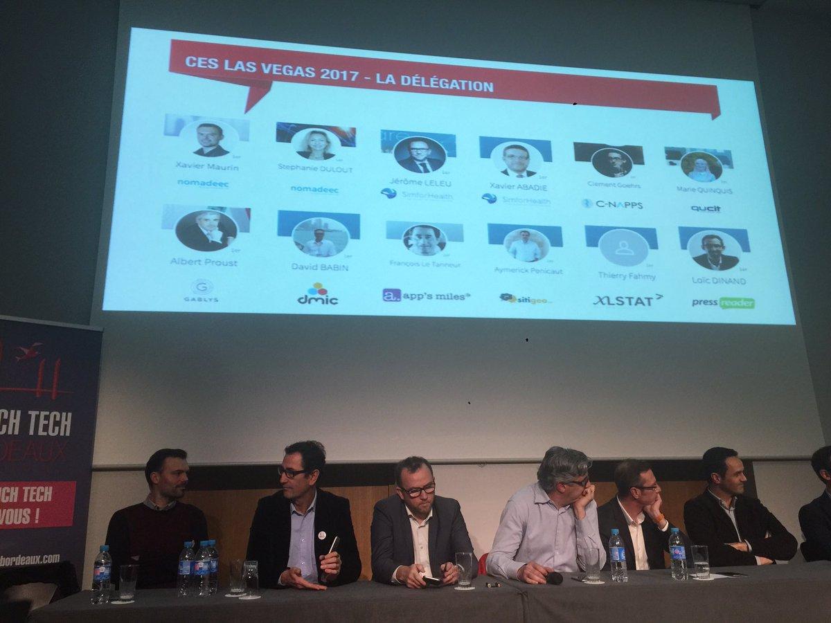 Retour de la délégation #CES2017 LV #Bordeaux sur #technologie #developpement  #business  #IoT #FrenchTech @GroupeLaPoste @CCIBdxGironde<br>http://pic.twitter.com/uJIcaWl8qa