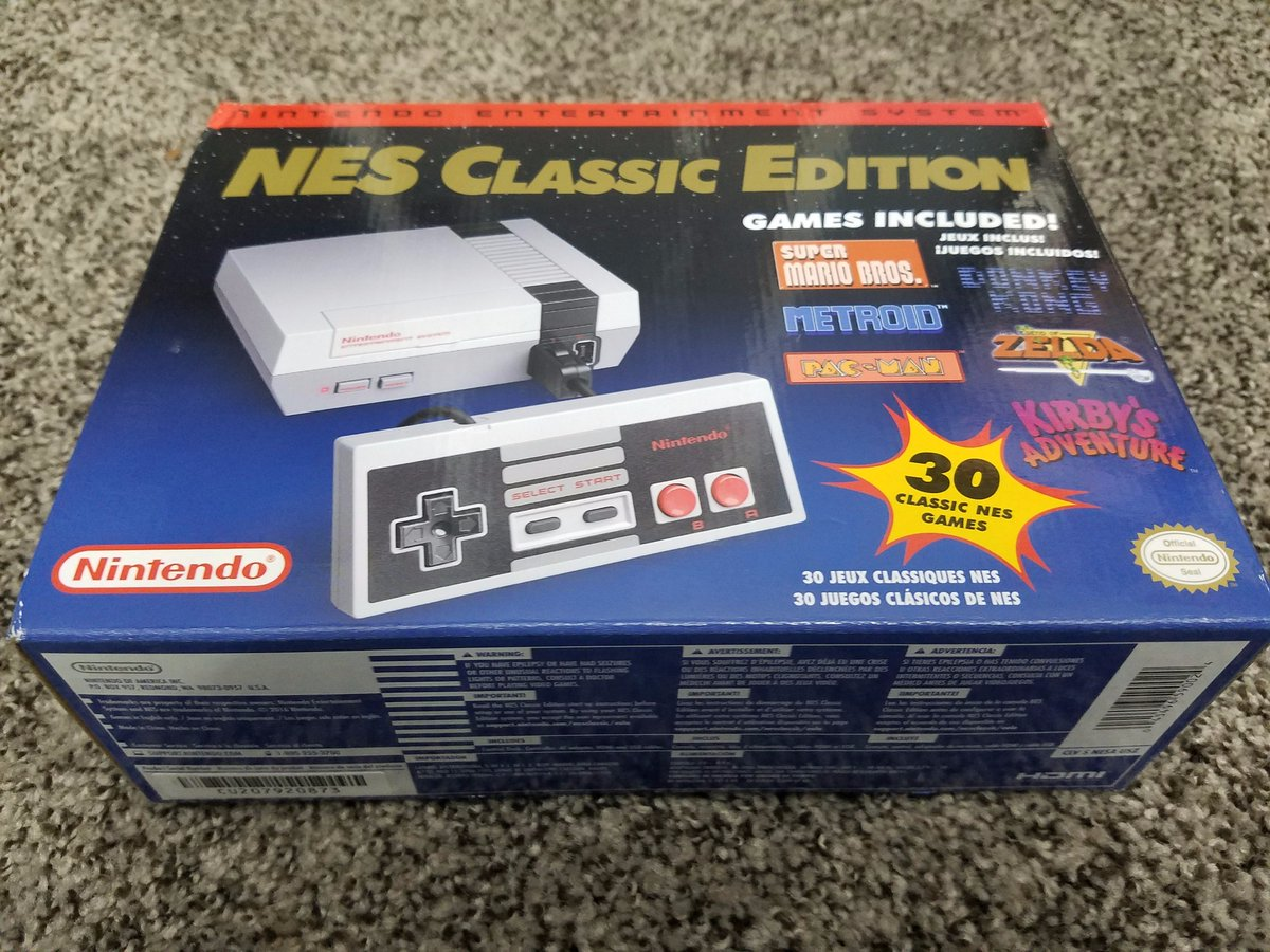 Raymond Doerr On Twitter Free Nintendo Nes Classic Edition