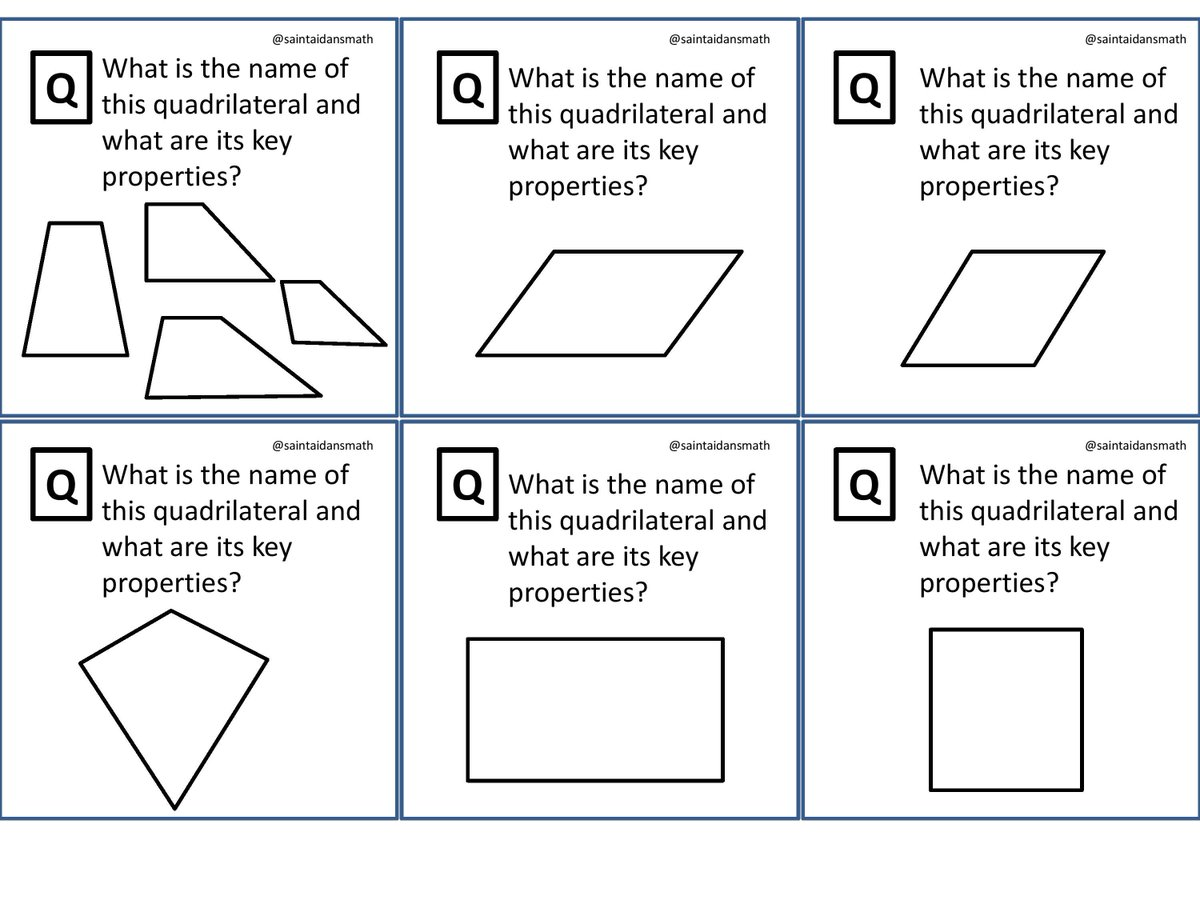 Saint Aidan S Maths On Twitter Gcse Revision Cue Cards 7 10 Print Back To And Quiz Yourself Your Clmates Or Pupils Triangles