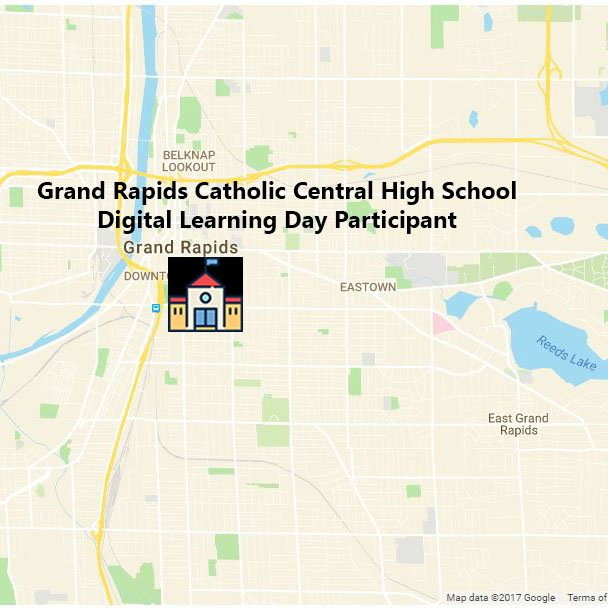 We're on the map!  @GRCatholicCentr is excited to participate in @OfficialDLDay on February 23rd!  #DOGRCathEd https://t.co/OnZLH27wGW