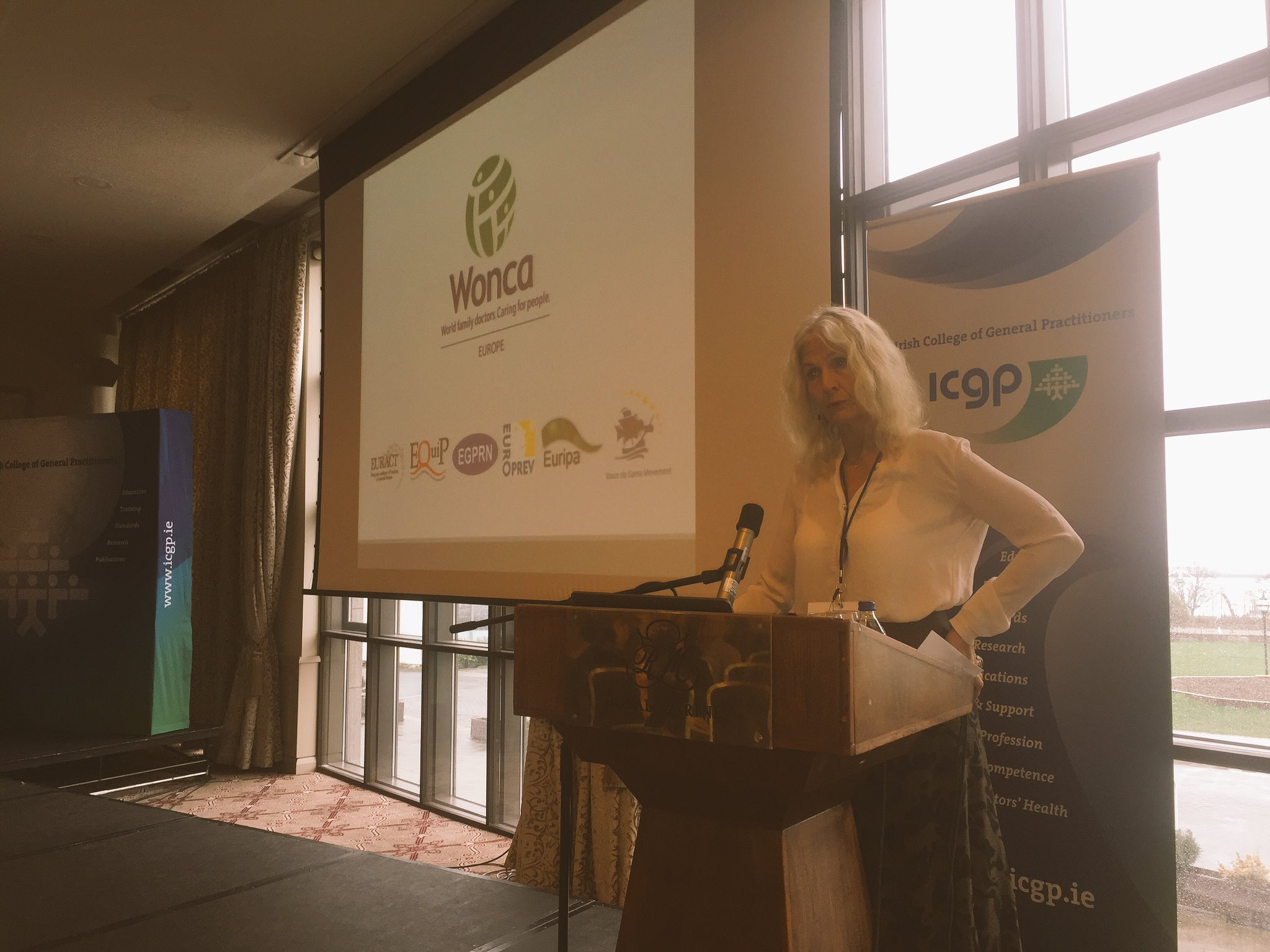 """@WoncaEurope President @AStavdal addresses #EQUIPDublin2017 """"Our voice must be heard everywhere"""" https://t.co/EHPaIa9Elz"""