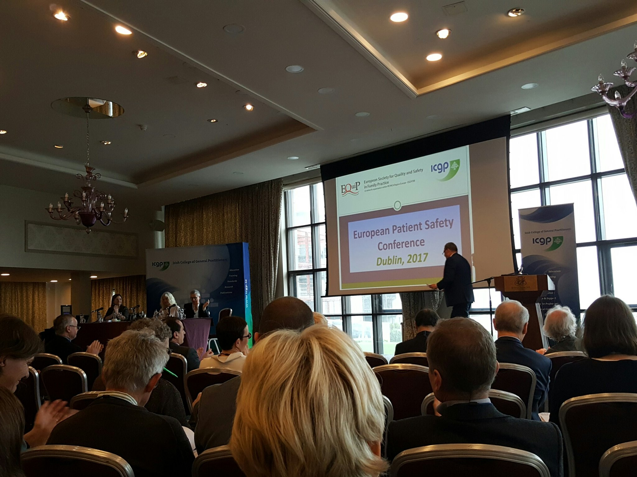 Let's go for patient safety with EquiP and keep improving our safety culture  #EQUIPDublin2017 https://t.co/iSU4pJSR2a