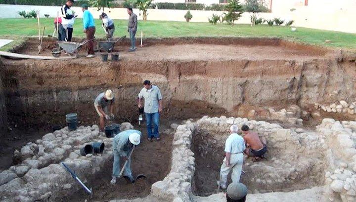 Российским археологам удалось раскопать остатки Святой земли