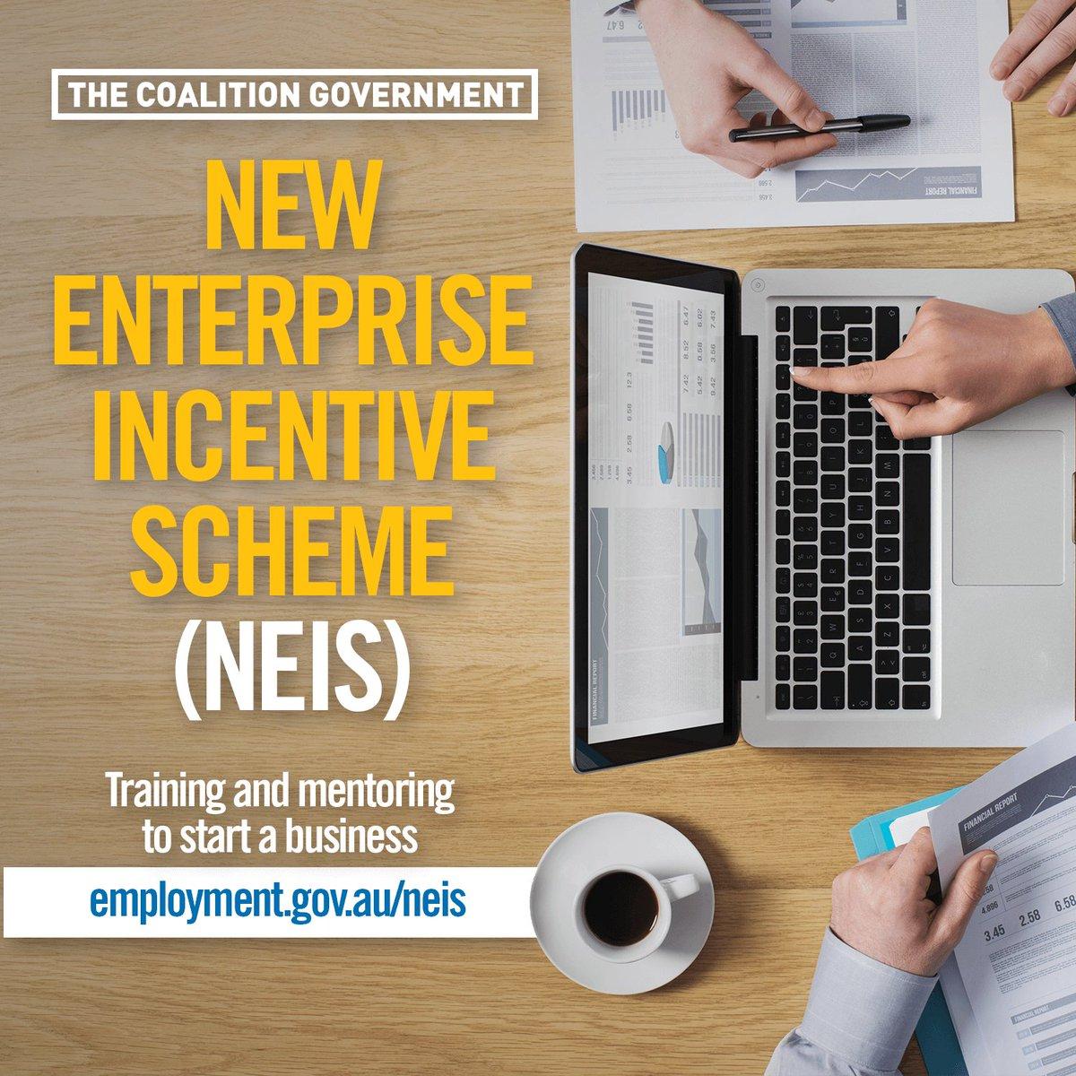 New enterprise incentive scheme training connections australia.