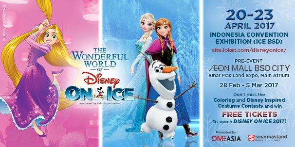 Aeon Mall Bsd City On Twitter Disney On Ice Pre Event On 28 Feb 5