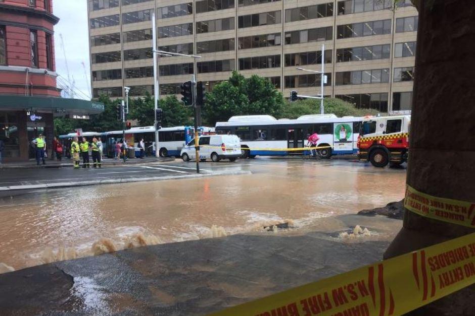Thumbnail for Heavy rain hits Sydney and South Coast