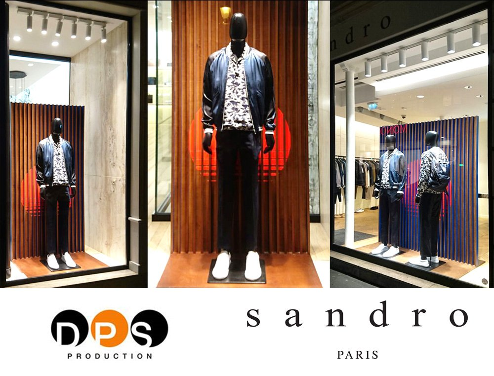 SANDRO SPRING - MAN by @DPSPRODUCTION #vitrines #visualmerchandising #trademarketing #escaparates <br>http://pic.twitter.com/yxouUp4JMv