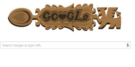 The #GoogleDoodle is a lovespoon to celebrate #StDavidsDay https://t.co/QeooTu9ruy https://t.co/p2Fi4b8yUy