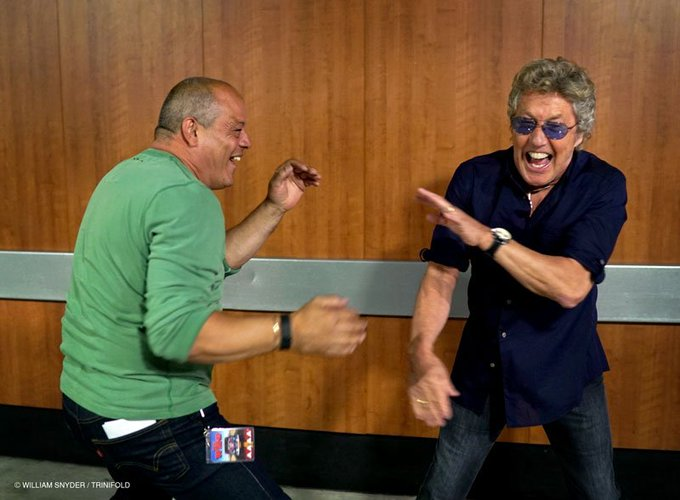 Pinch, punch, the first of the month. A very happy 73rd birthday to Roger Daltrey, the guv\nor!