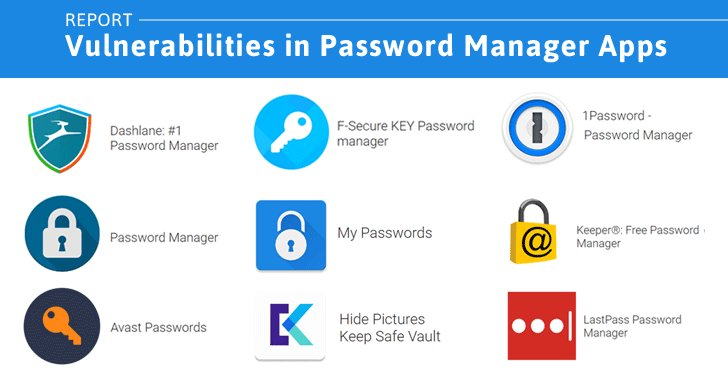 9 Popular Password Manager Apps Found Leaking Your Secrets https://t.co/aw1xqENq71 #security #android