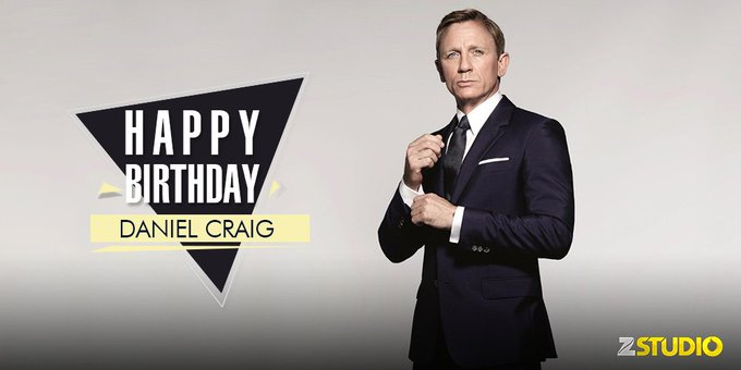 Happy Birthday to Bond James Bond a.k.a Daniel Craig! Which is your favourite movie featuring him?