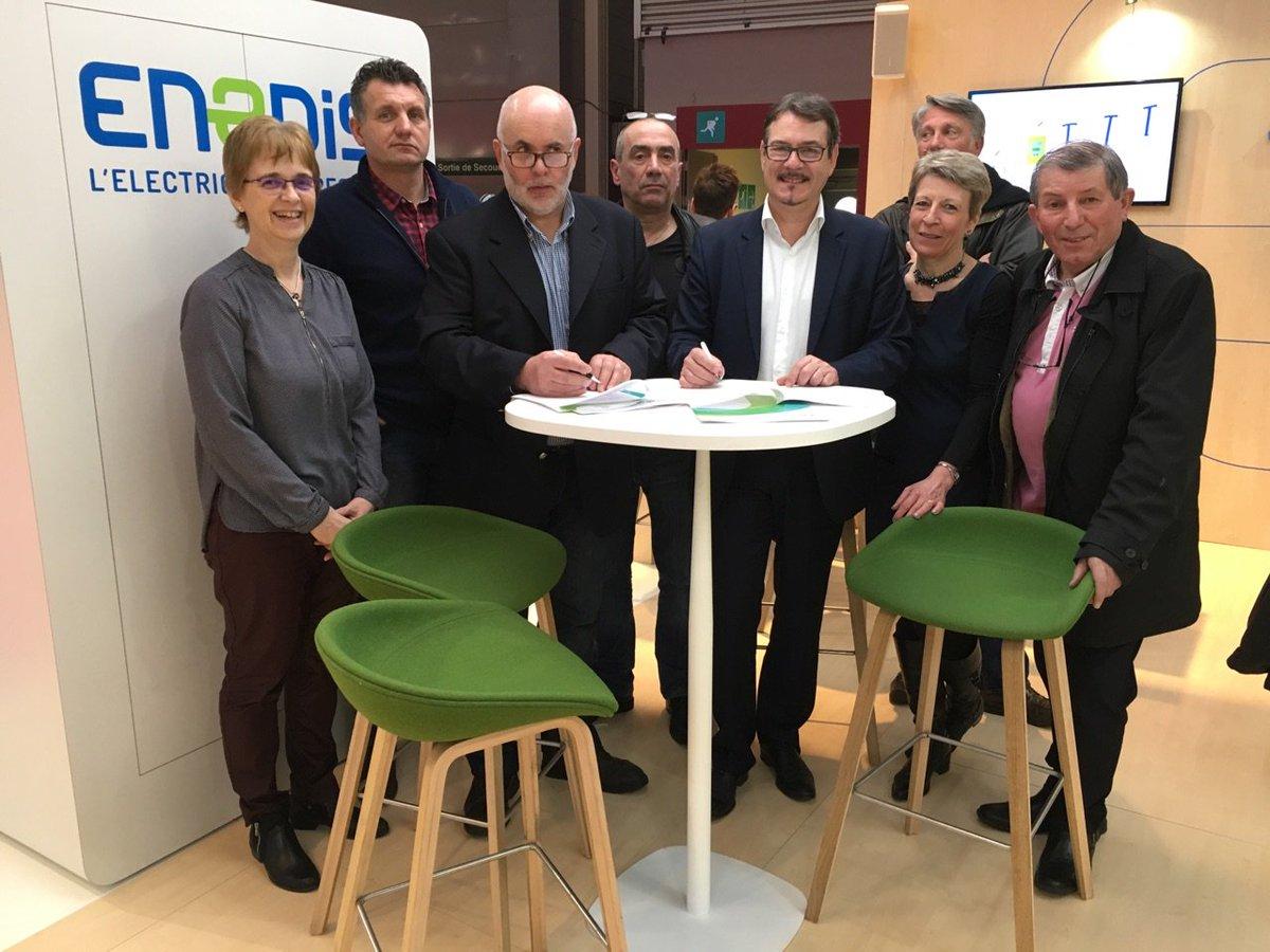 enedis en afc on twitter sia2017 enedis signe une convention avec la chambre dagriculture de hautesaone au salon de lagriculture paris