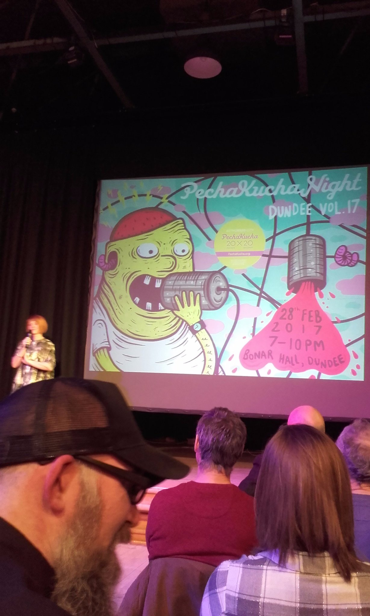 @Creative_Dundee #PKN_DND. Excellent variety of speakers last night. Love open mic as you find out even more what events are taking place. https://t.co/tHh4nAZ5xk