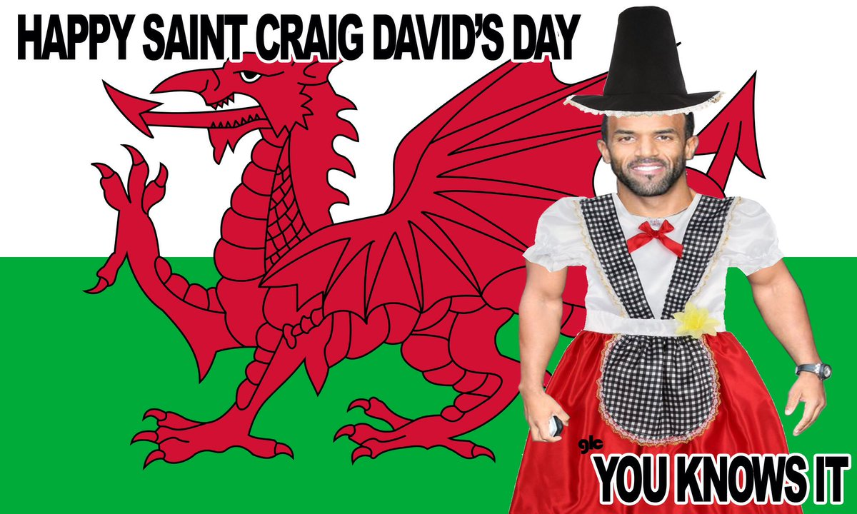 Happy St Craig David's Day https://t.co/rXeIoLklme