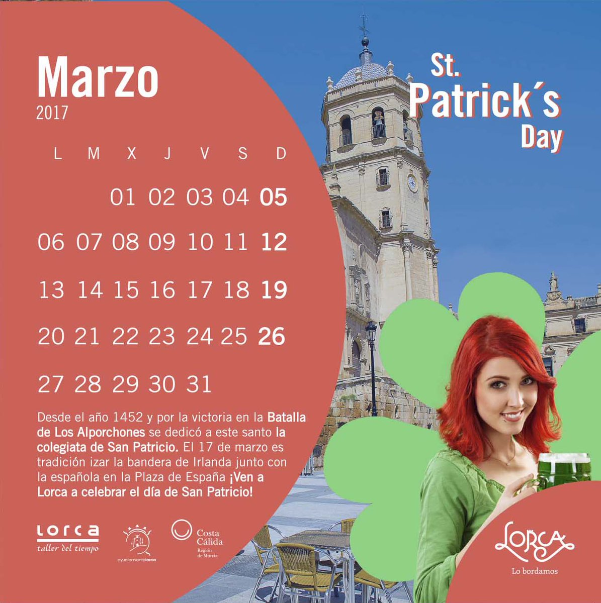 Image result for san patricio en lorca 2017