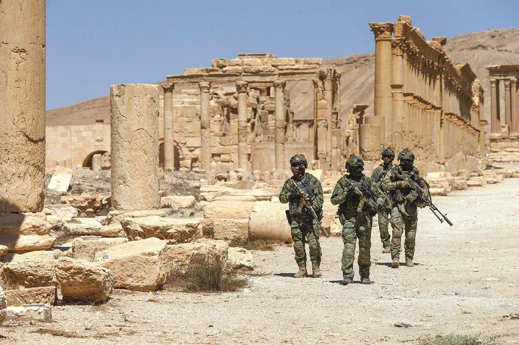 Urgente El Ejército sirio reconquista Palmira