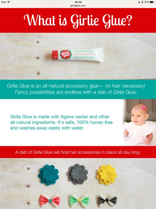bbd89f9706f65 Girlie Glue  Have Y all Heard of This Glue for Bald-Headed Babies ...