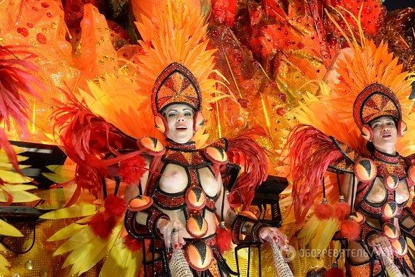 фото с карнавала рио-де-жанейро