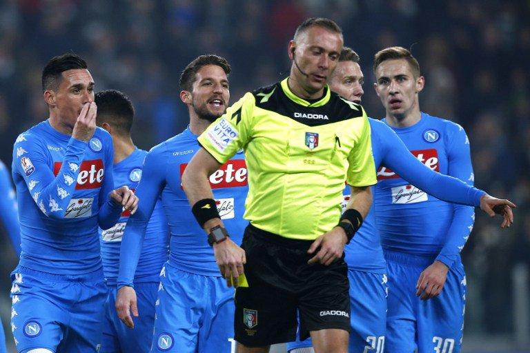 """Polemiche Juventus Napoli: """"vergognosi"""" nelle decisioni e non agli arbitri"""
