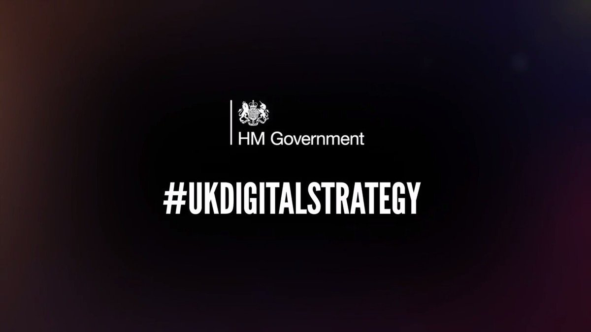 Read the #UKDigitalStrategy published today in full at: https://t.co/neY31LQMJQ https://t.co/Qno6ALZvgI