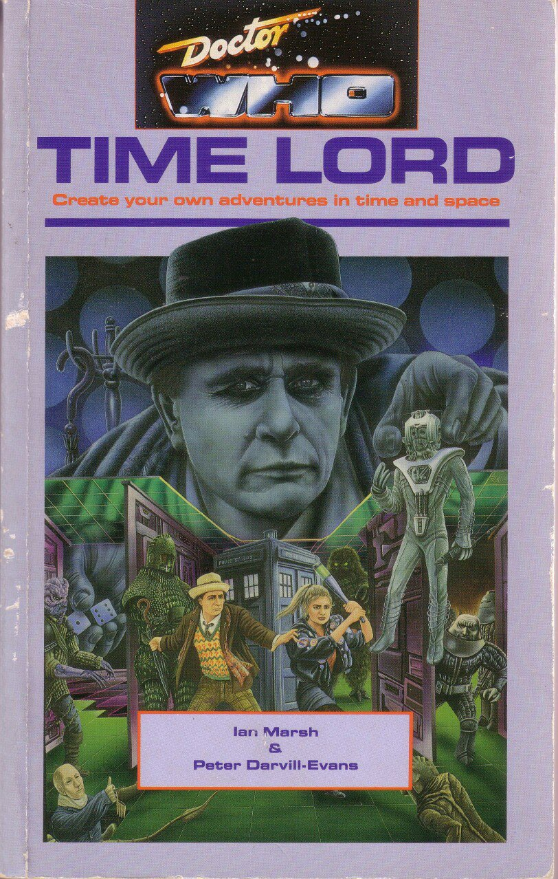 """Today's #OverlookedRPG - """"TIME LORD"""" by Ian Marsh and Peter Darvill-Evans https://t.co/t66jsfTdkS https://t.co/ewQ52JJcxE"""