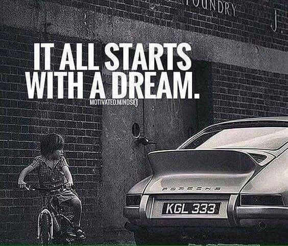Dreaming Of Racing Cars