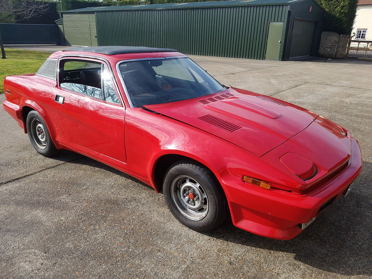 Classic Projects On Twitter 1976 Triumph Tr7 V8 3500cc Conversion