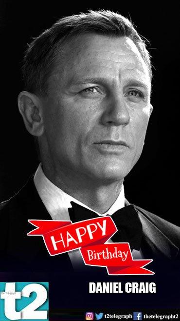 He\s always been our favourite Bond! t2 wishes a very happy birthday to 007 Daniel Craig.