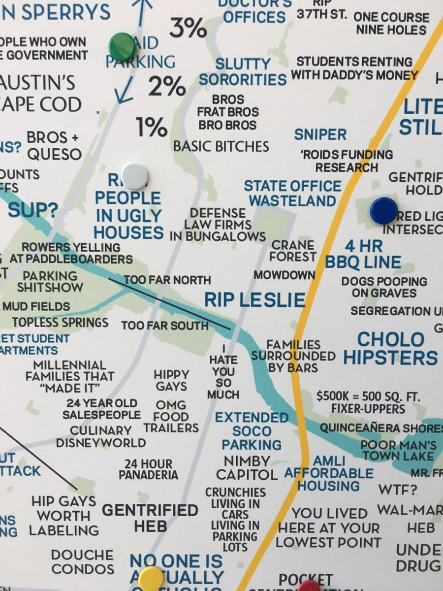 Judgmental Maps on Twitter: \