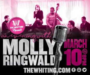 Michigan! I'll be performing with my jazz band on Friday, March 10. Come join us in Flint @whitingflint