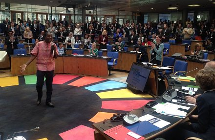 Every time I look around I see the change we have begun as citizens, as civil society: I am excited, we are ready - Paul Okumu #GFI4SD #SDGs https://t.co/tjHD007Kxc