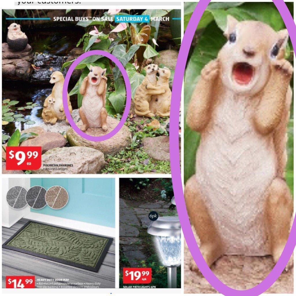 WTF IS THIS @ALDIAustralia ??   #aldi #catalog #DemonSquirrel #Nope   #Marketing #Advertising @Dr_Draper