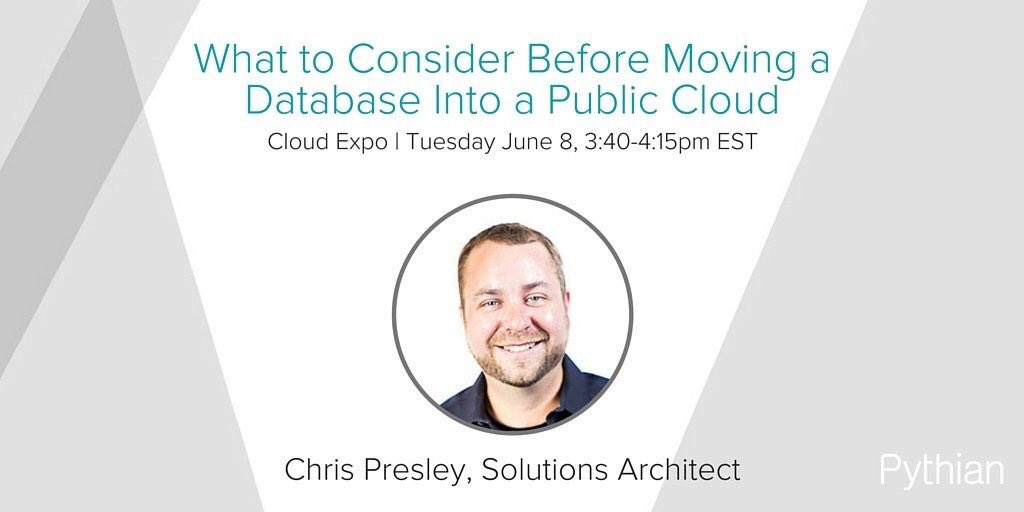 Considerations for Moving a Database to the Public Cloud