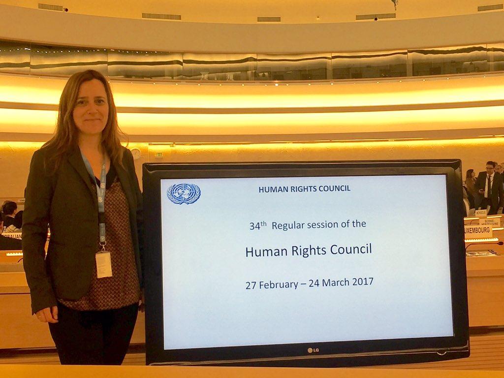 """Amparo Alonso on Twitter: """"Comienza el Consejo de Derechos Humanos  @iamCARITAS Caritas Internationalis will deliver statement on  right2housing… """""""