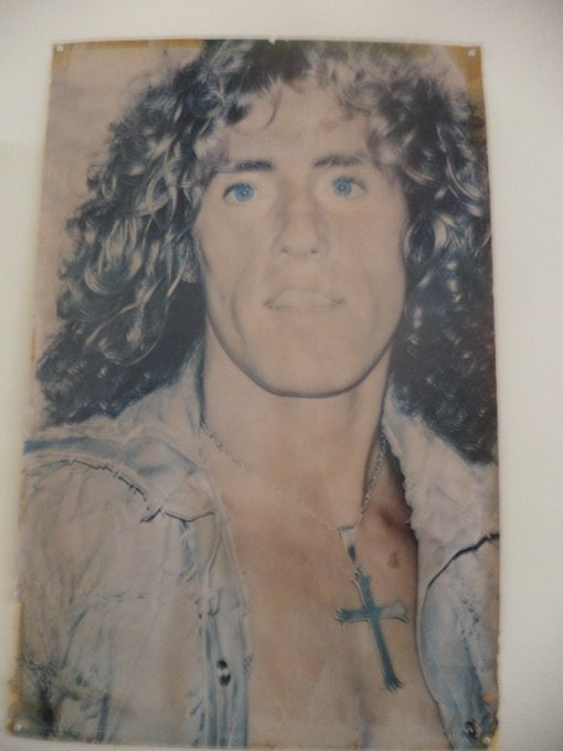 This poster hangs next to my bed since 1976 in Antwerp Belgium. happy birthday Roger Daltrey