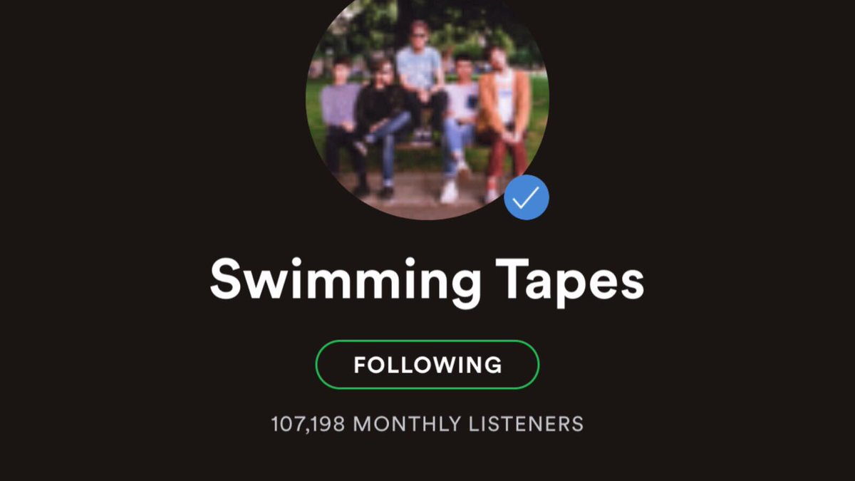 Swimming Tapes on Twitter: