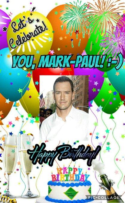 Happy birthday to actor Mark-Paul Gosselaar who celebrates his birthday today!Enjoy your special day!