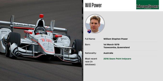 Happy birthday IndyCar champion Will Power, 38 today: