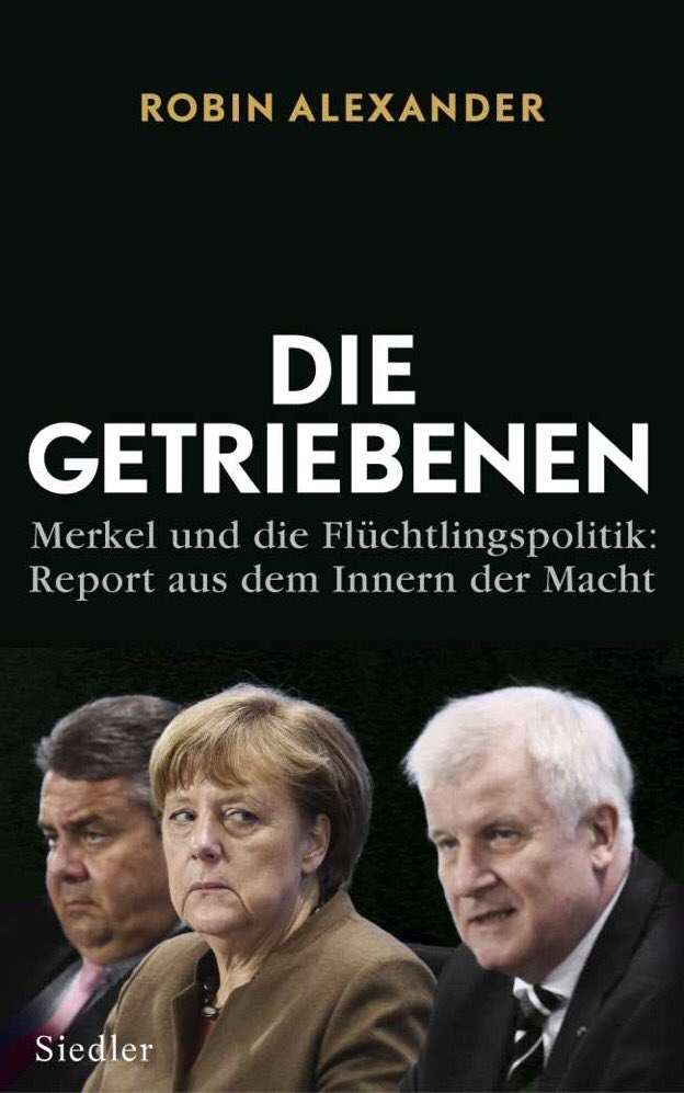 Hasil gambar untuk Driven by Events: Merkel's Refugee Policy, by Robin Alexander