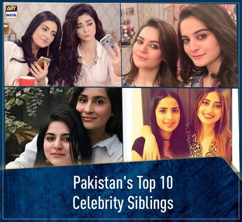 """ARY Digital on Twitter: """"Pakistan's Top 10 Celebrity Siblings #Pakistan #ARYDigital Read more : https://t.co/BSPvP9YZ1R… """""""