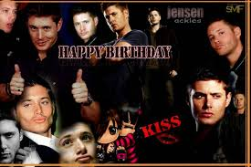 Happy birthday to adorable shy and humble person jensen ackles! :)