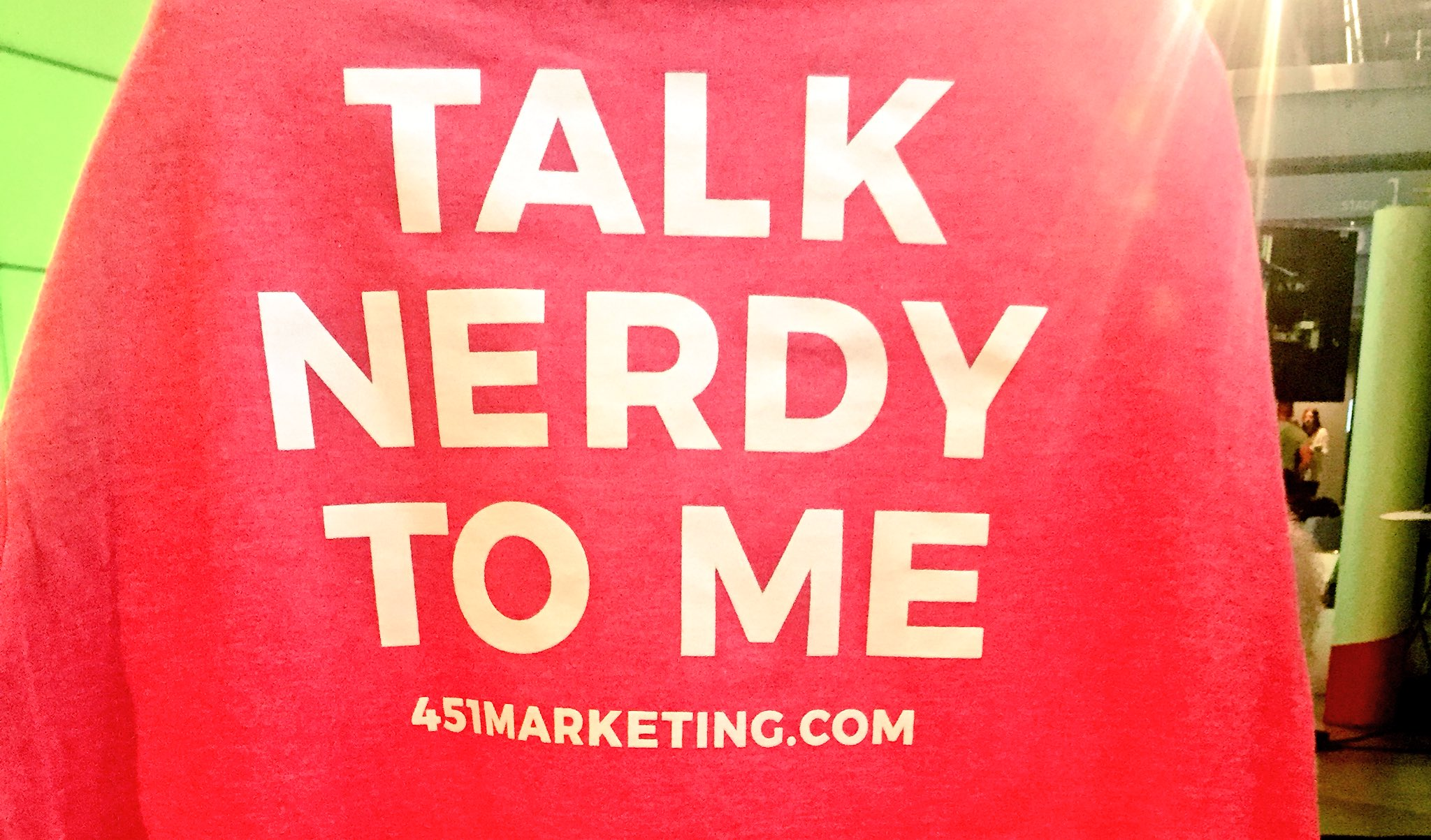 CALLING ALL GEEKS. Come check us out today #C3NY & tell us your best nerdy pick up line https://t.co/RAfyWdd894
