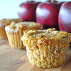 Apple Carrot Muffins ~ The Kids Cook Monday!